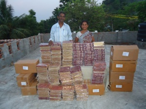 Bibles YesuBabu & wife