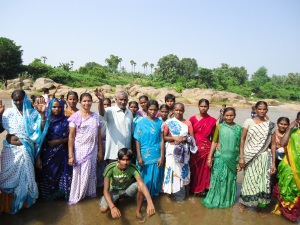 Santosh Mass Baptism