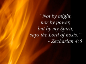 Holy Spirit, Not by might